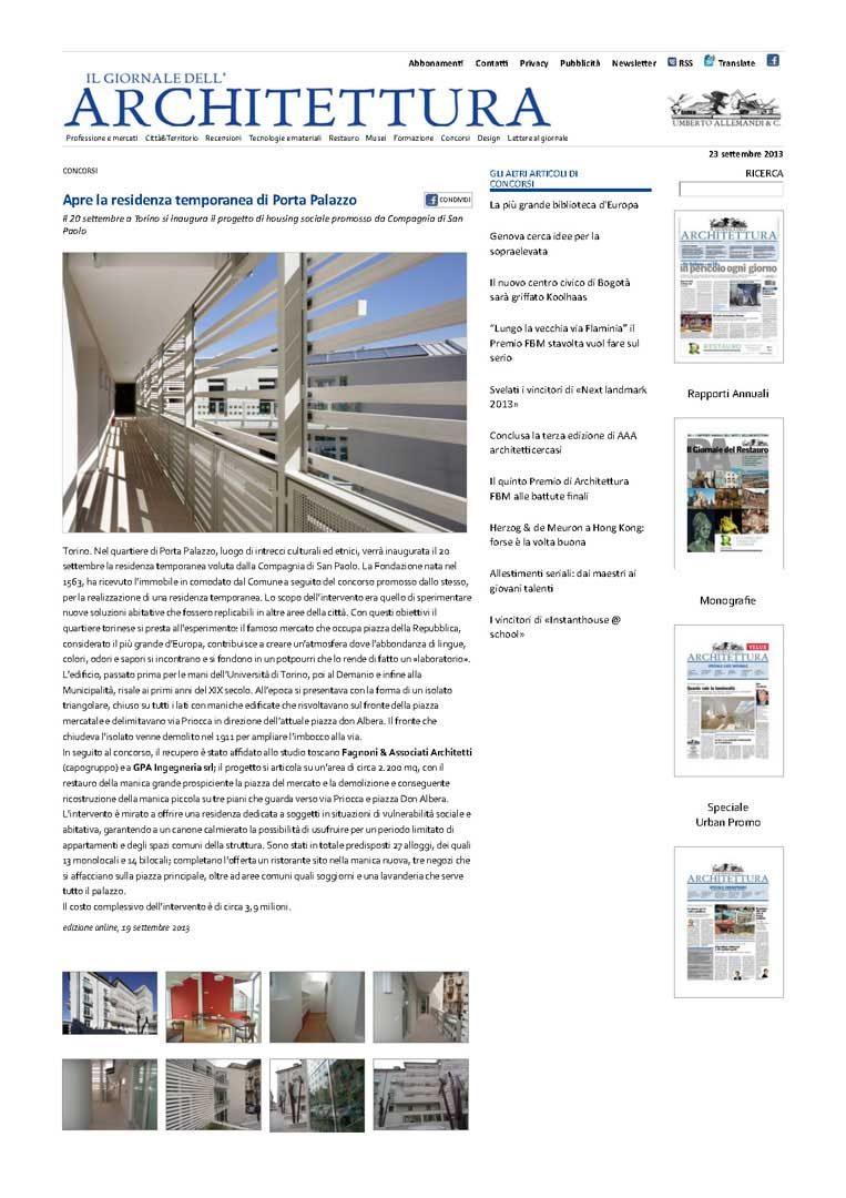 5_Il Giornale dell'Architettura_news